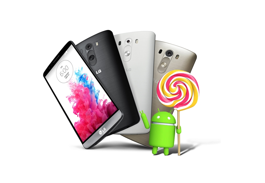 Android download G3 LG lollipop Update