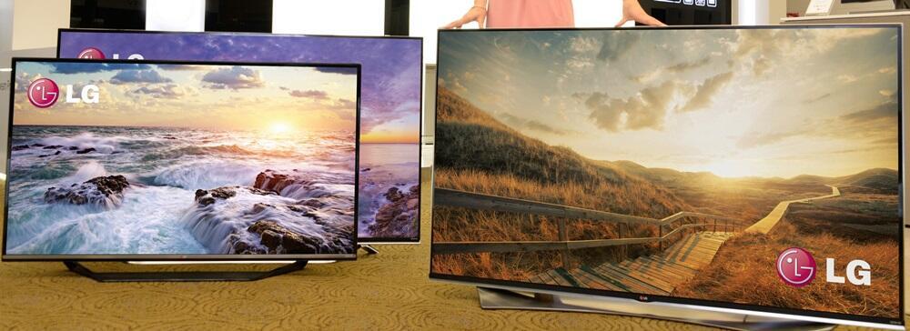 4k CES2015 fernseher LG TV