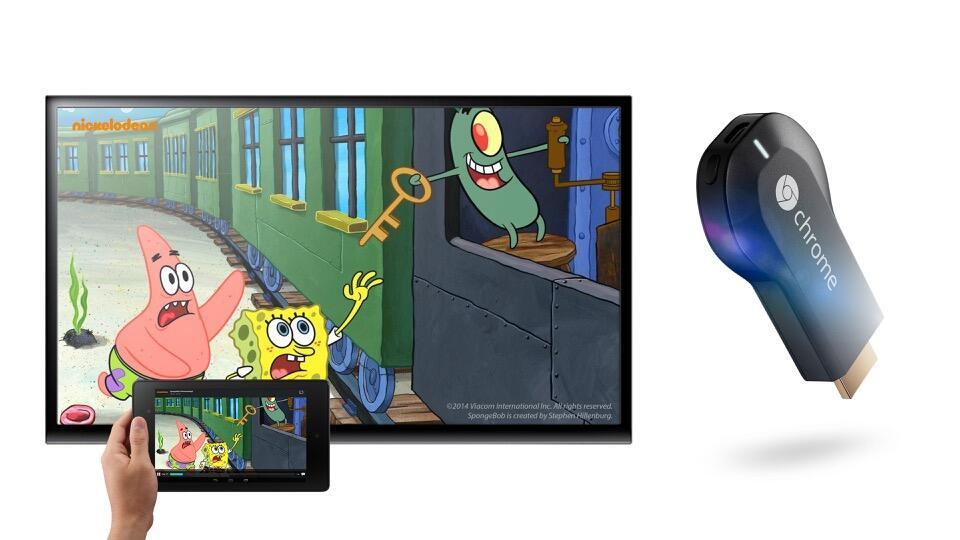 Android chrome chromecast iOS magine TV