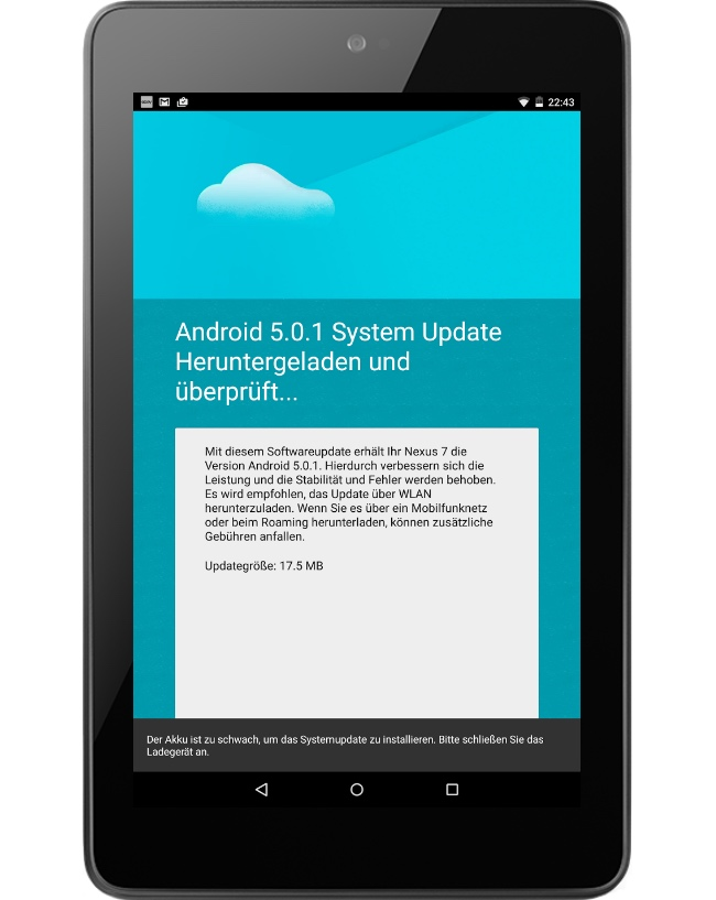 Android nexus ota Update