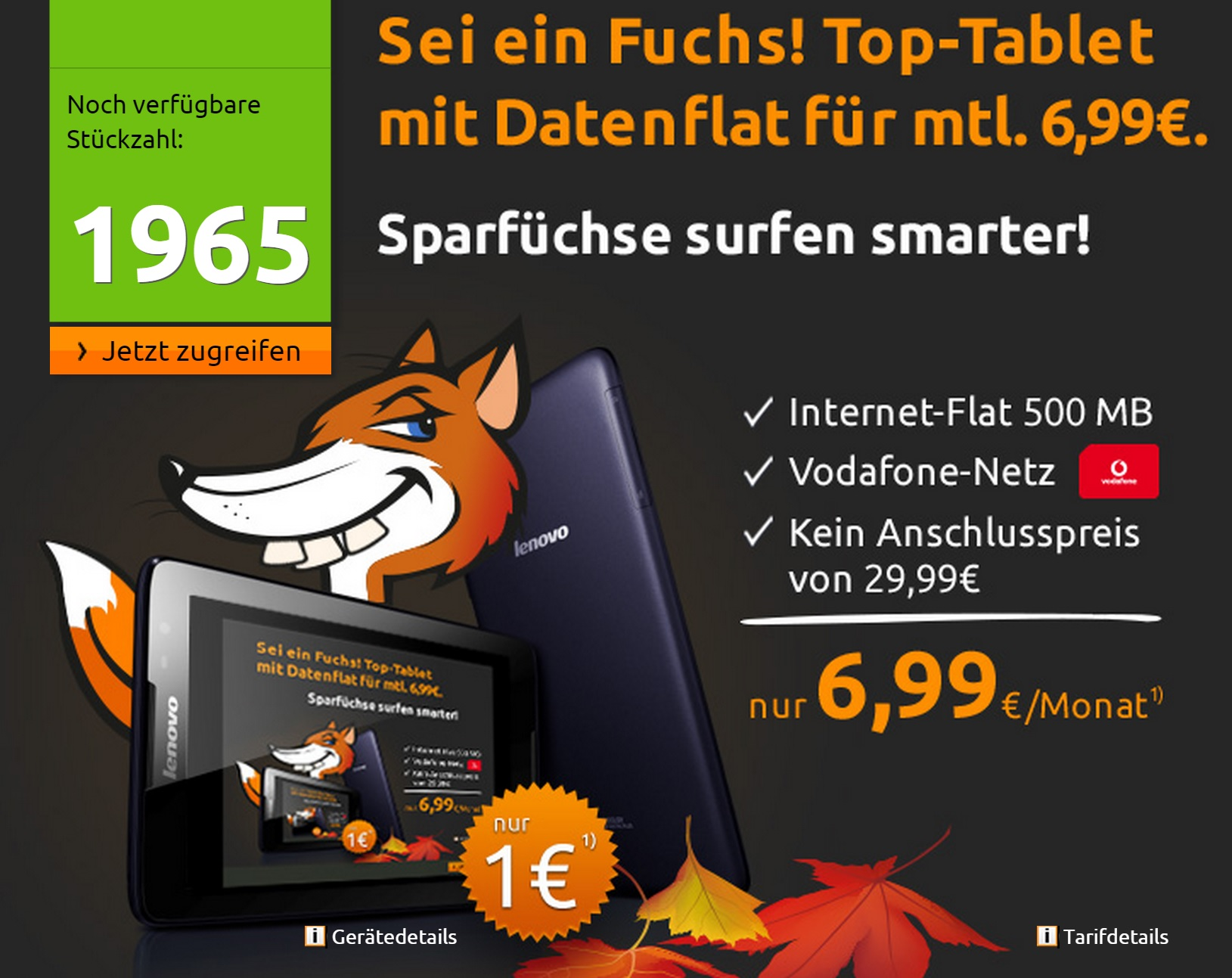Android deal tablet Vertrag