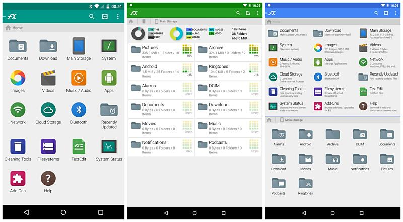 5.0 Android dateimanager File Manager FX lollipo Update
