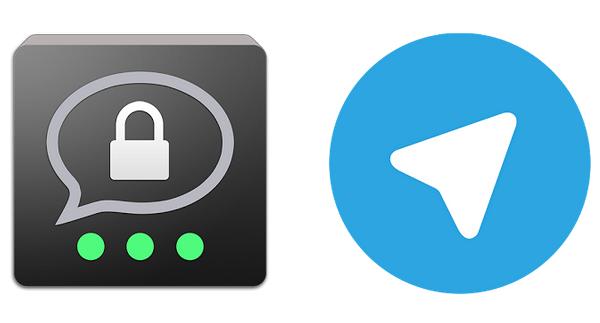Messenger social Telegram threema whatsapp