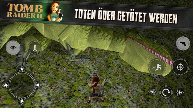 Apple games iOS Lara Croft Spiele tomb raider Tomb Raider II