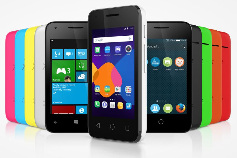 Alcatel Android CES2015 Firefox OS Windows Phone