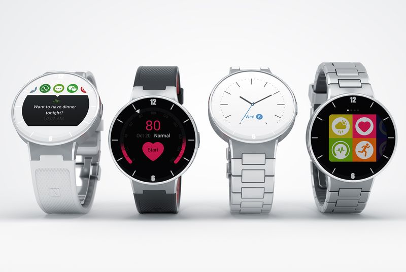 Alcatel Android iOS MWC2015 Uhr watch