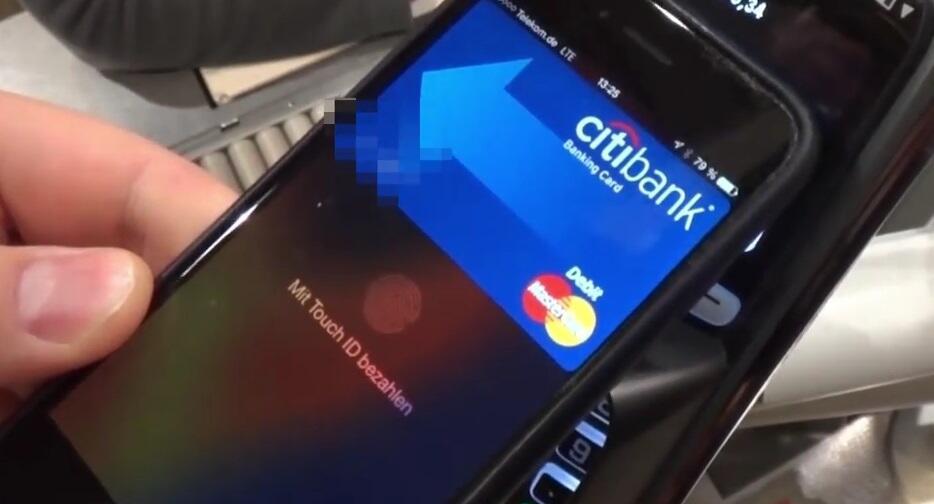 Apple deutschland iOS pay rewe Video