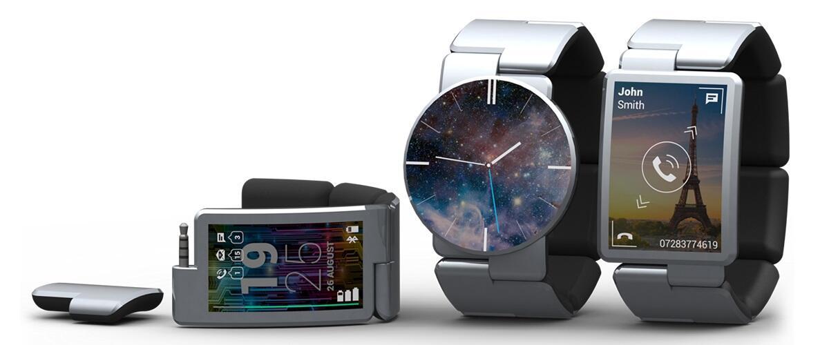 Blocks kickstarter Modular smartwatch