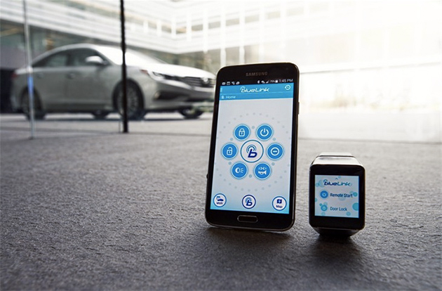Android Android Wear app auto CES2015 Hyundai Smart-Car