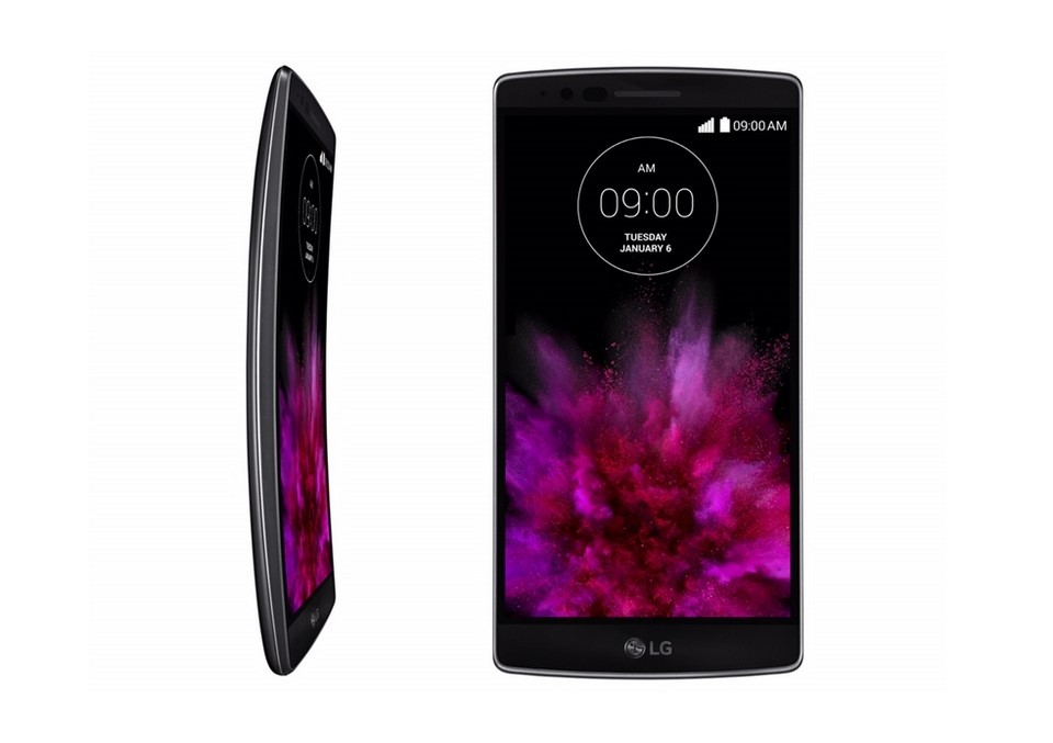 Android CES2015 Display G Flex gebogen LG
