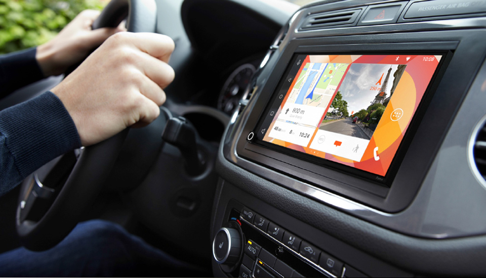 parrot rnb6 infotainment system mit android auto und apple car play. Black Bedroom Furniture Sets. Home Design Ideas