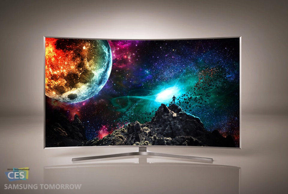 CES2015 Samsung TV