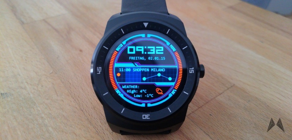 Android Android Wear LG G Watch R smartwatch Watchface WatchMaker