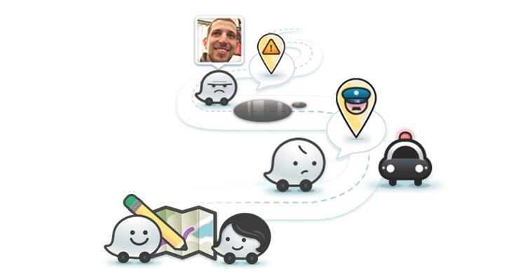 Google KFZ navigation Verkehr Waze