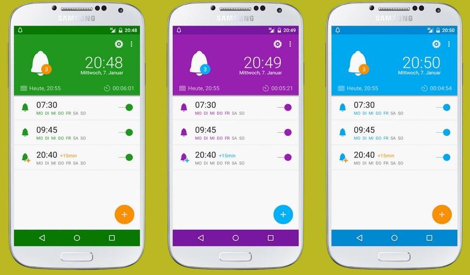 Android Radio Wecker