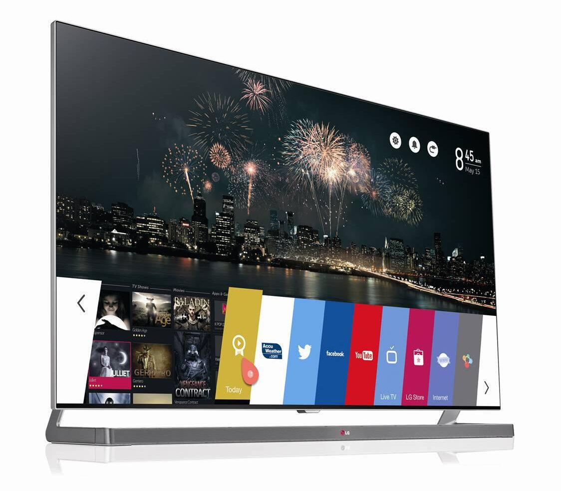 1 aff LG review smart tv test webOS