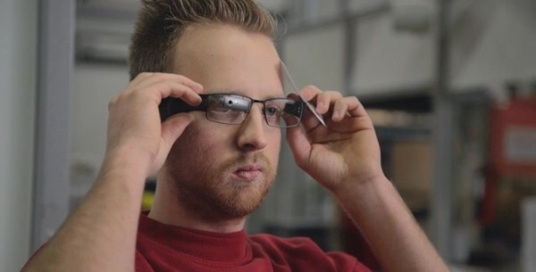 AR Augmented-Reality brille dhl Google Glass markt vr