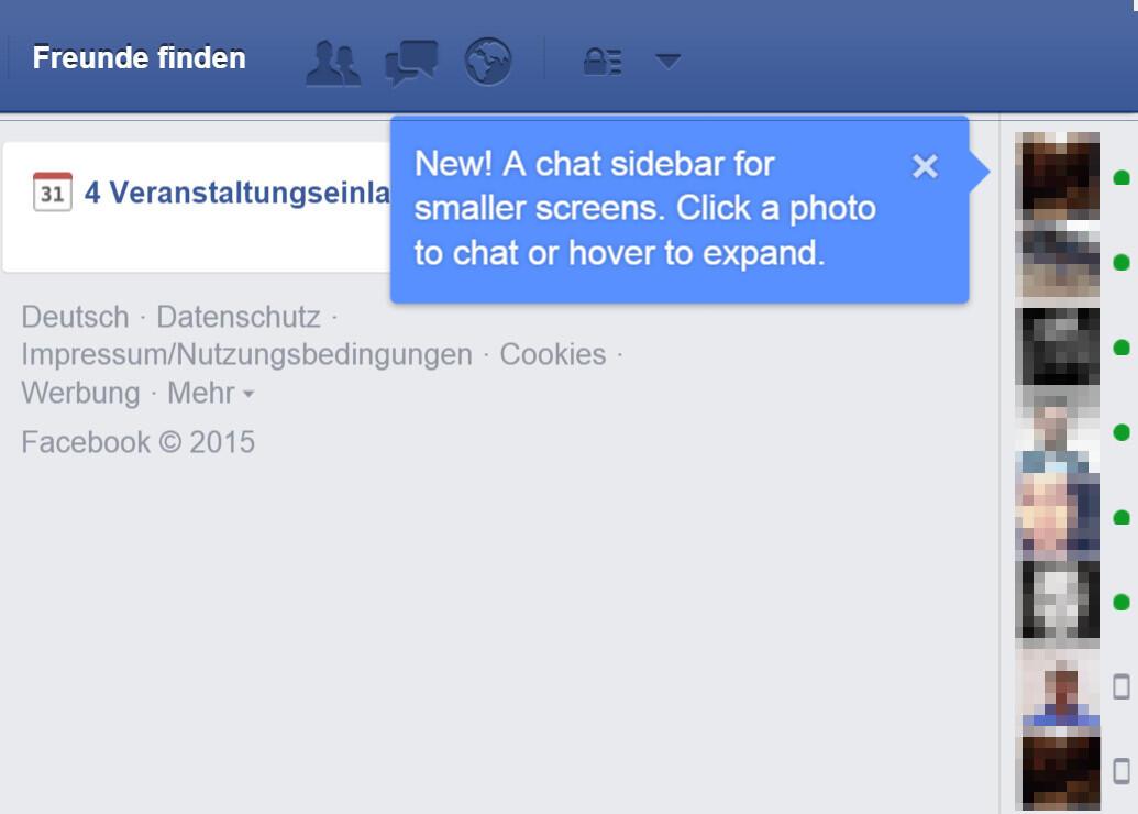 Facebook zuletzt online wird nicht angezeigt
