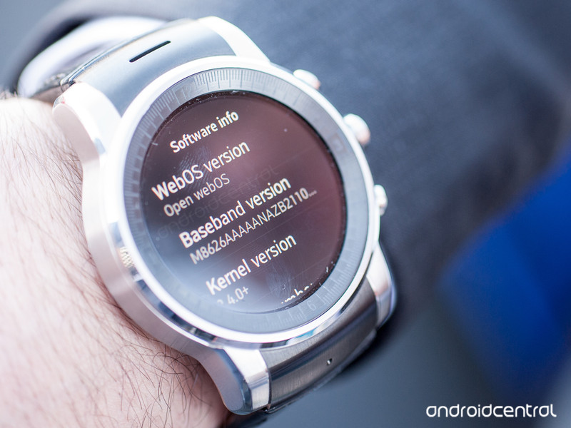Android audi LG G Watch R wear