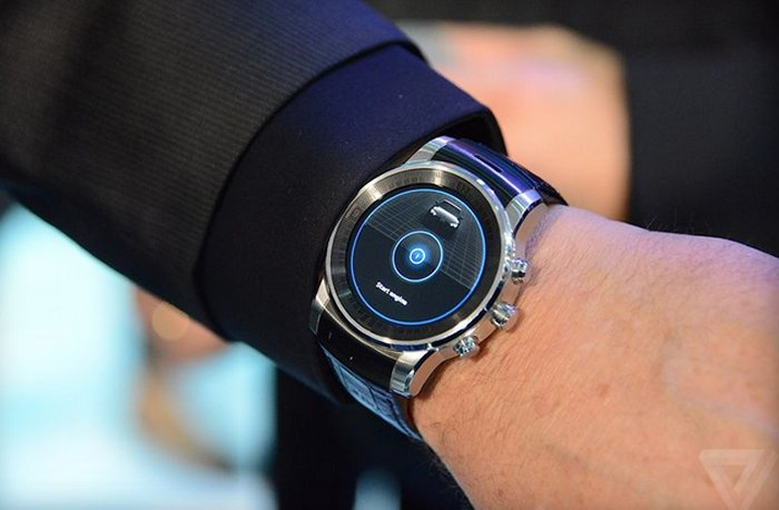 Android audi CES2015 G Watch R LG wear webOS