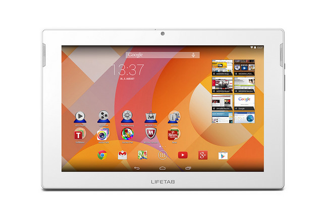 aff Android medion tablet