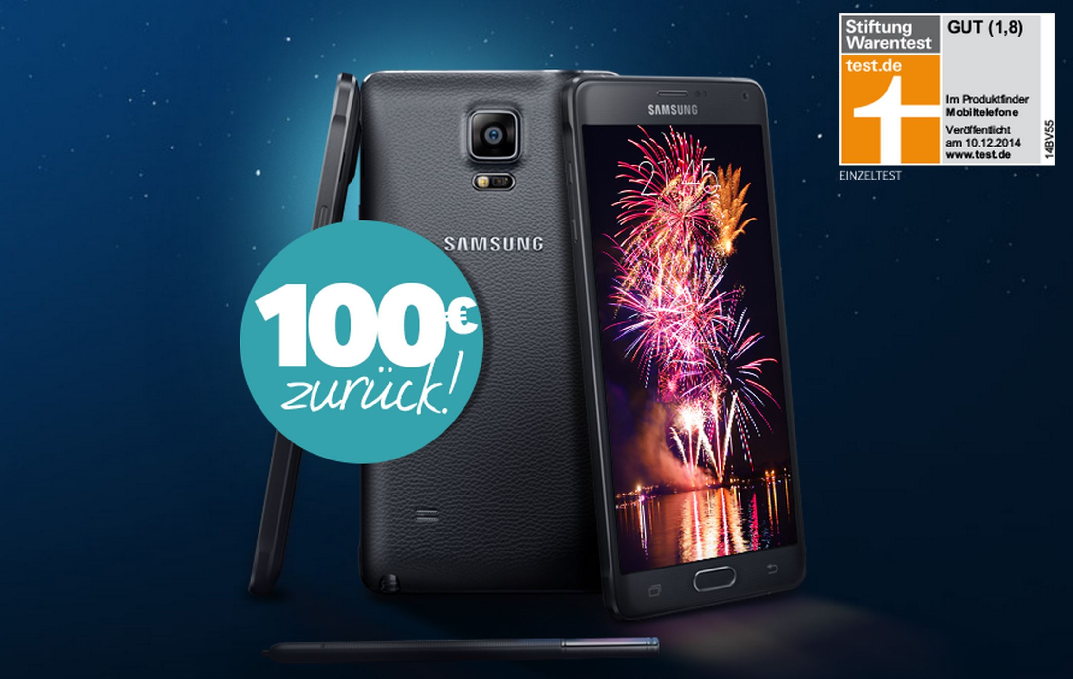 aff Android Galaxy Note 4 Neujahrsdeal note 4 Samsung