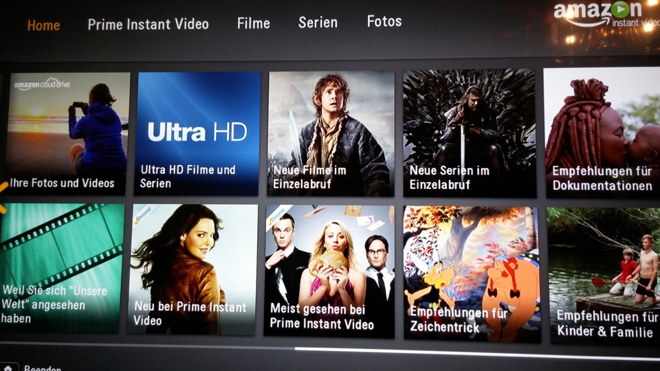 4k aff amazon streaming Ultra HD Video vod
