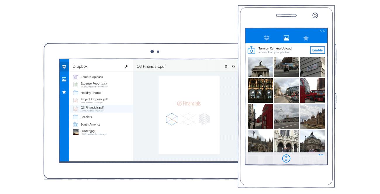app cloud dropbox rudy huyn Update Windows Phone