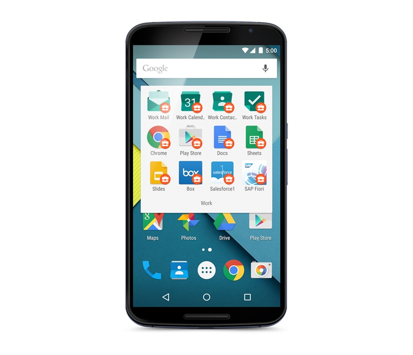 Android Arbeit Google Work