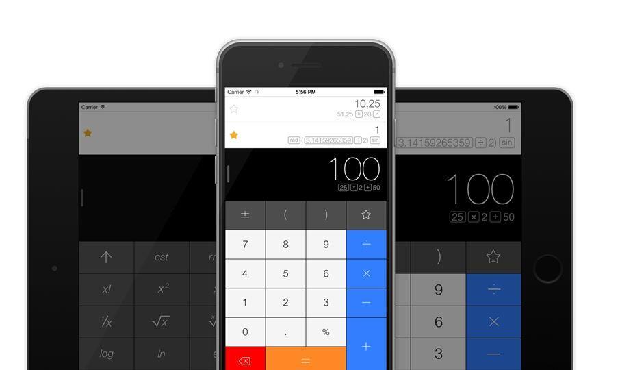 app iOS iphone rechner Taschenrechner