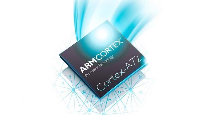 Android arm Cortex a72 cpu gpu