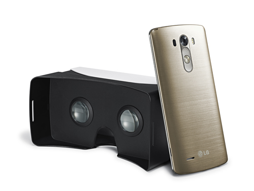Android Cardboard LG G3 Virtual Reality