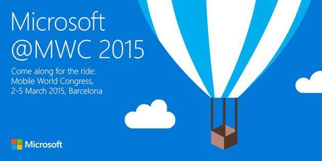microsoft MWC2015 phone Windows