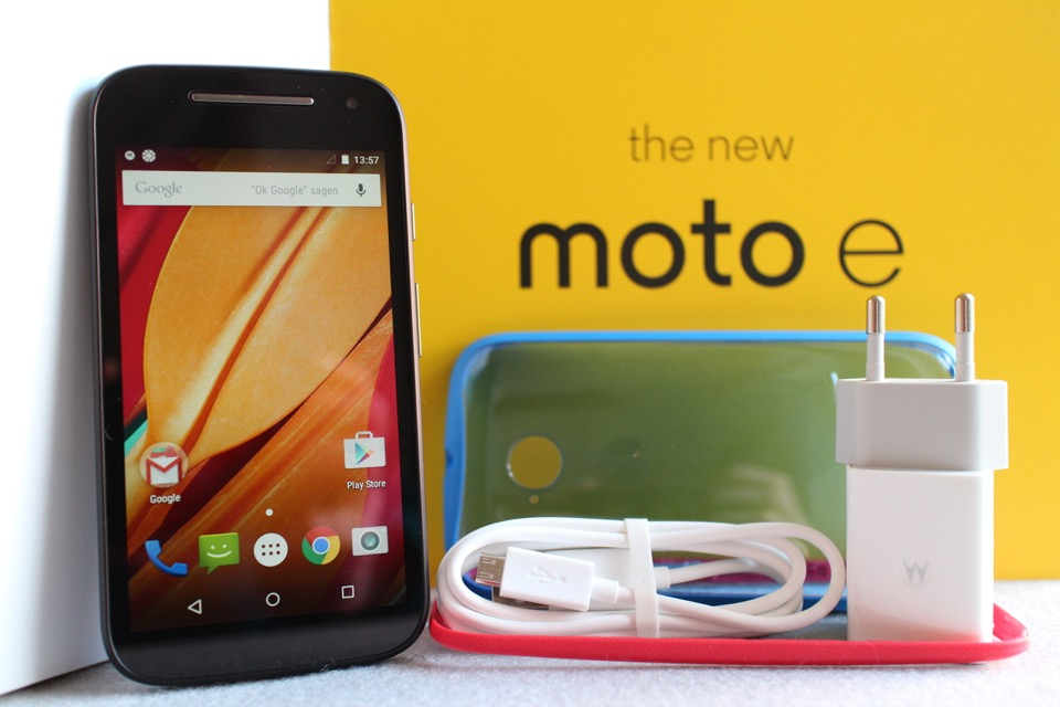 Android Galerie moto Moto E Motorola