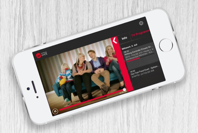 Android app Fernsehen iOS pro7 sat 1 TV