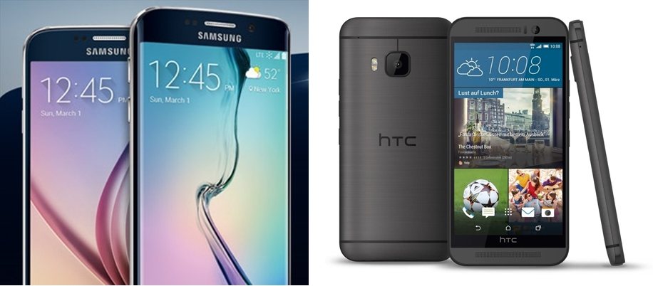 Android galaxy HTC m9 MWC2015 one s6 Samsung