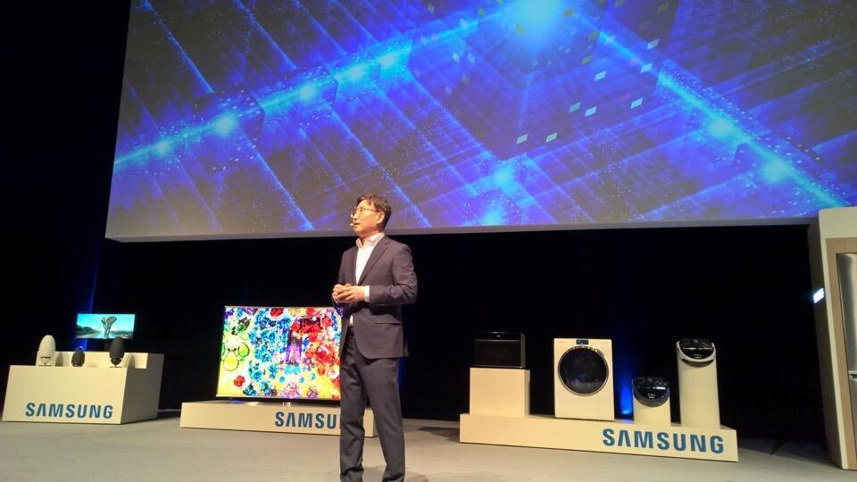 CES2015 monaco Samsung