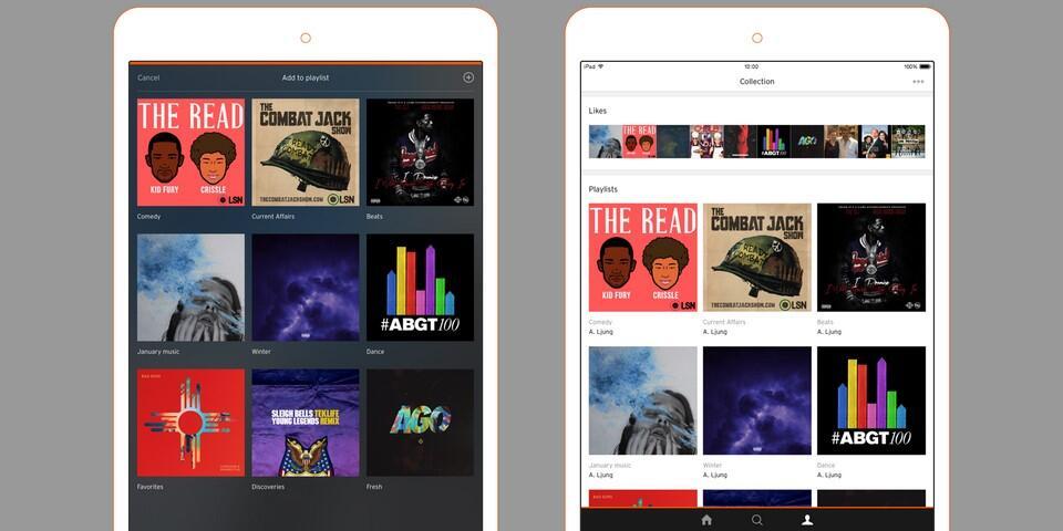 app iOS iPad soundcloud