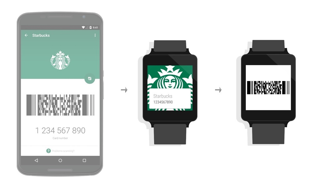 Android Android Wear kundenkarte
