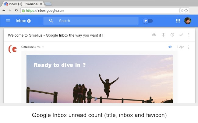 chrome Gmail Google inbox