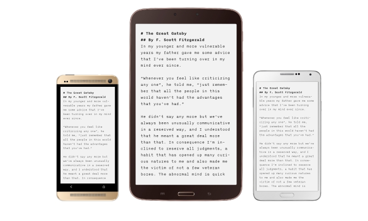 Android app iA Writer