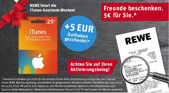 Apple itunes iTunes Karte iTunes Rabatt