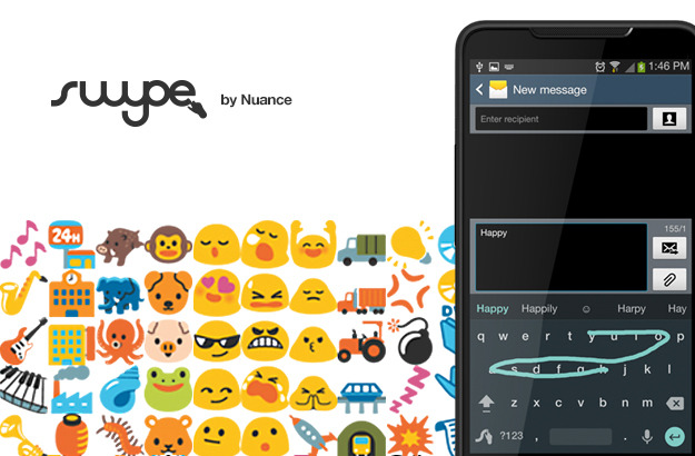 Android apk app Emoji keyboard Tastatur Update