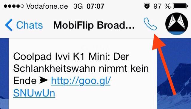 iOS iphone Messenger Telefonie Update voip whatsapp
