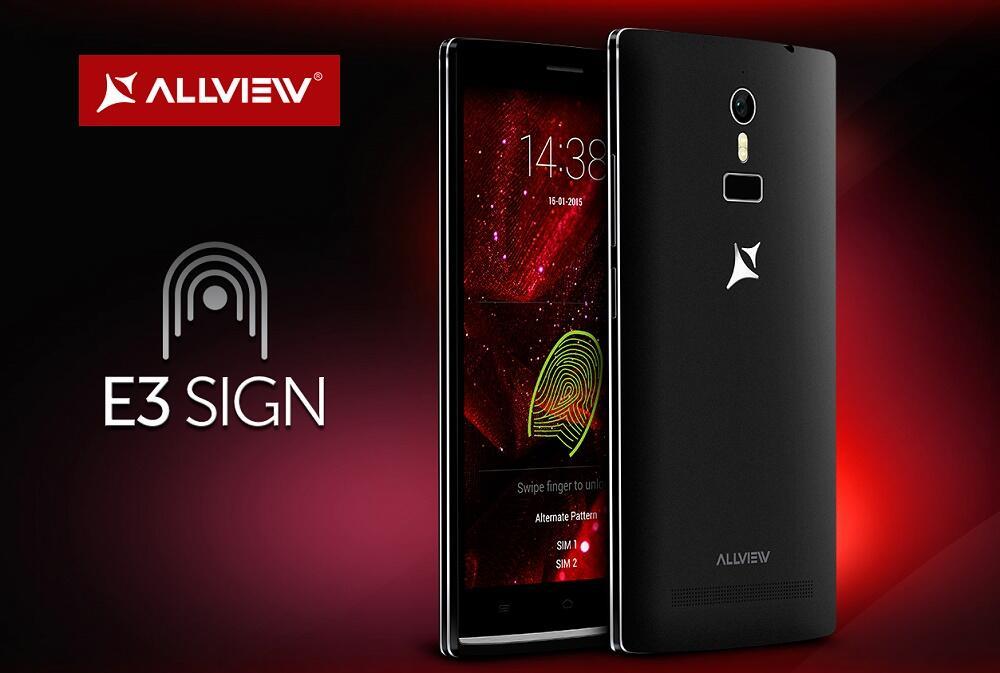 allview Android Fingerabdrucksensor