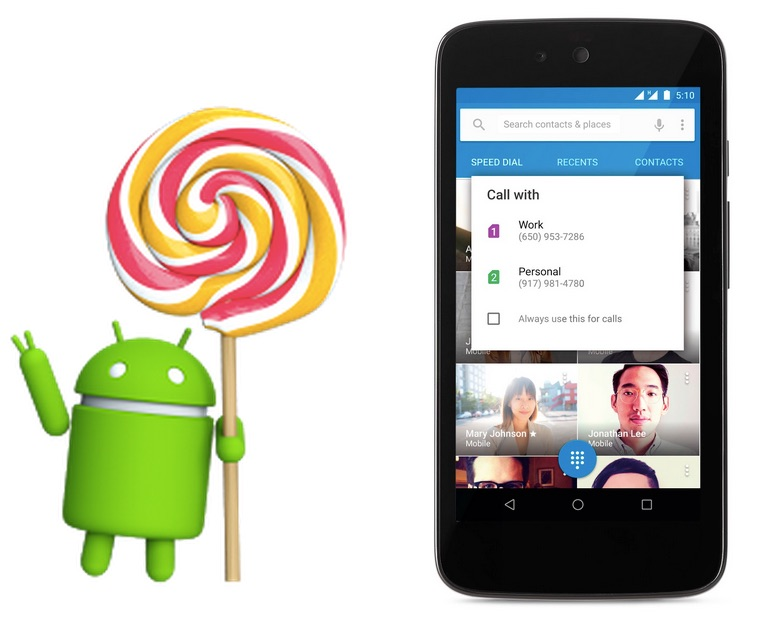 Android android 5.1 download Google lollipop Update