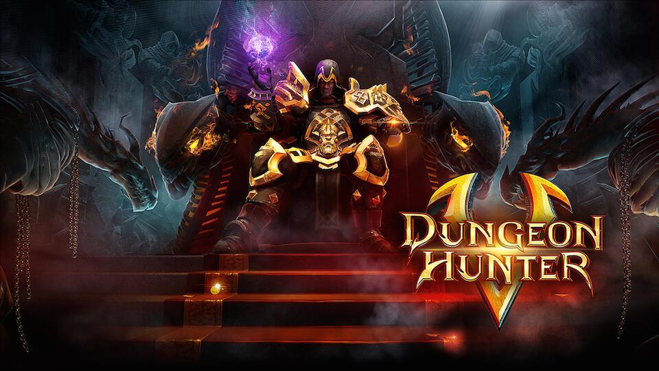 Android dungeon hunter iOS Spiel