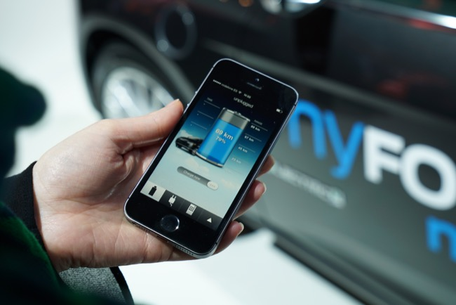Android app ford iOS KFZ mobile MWC2015