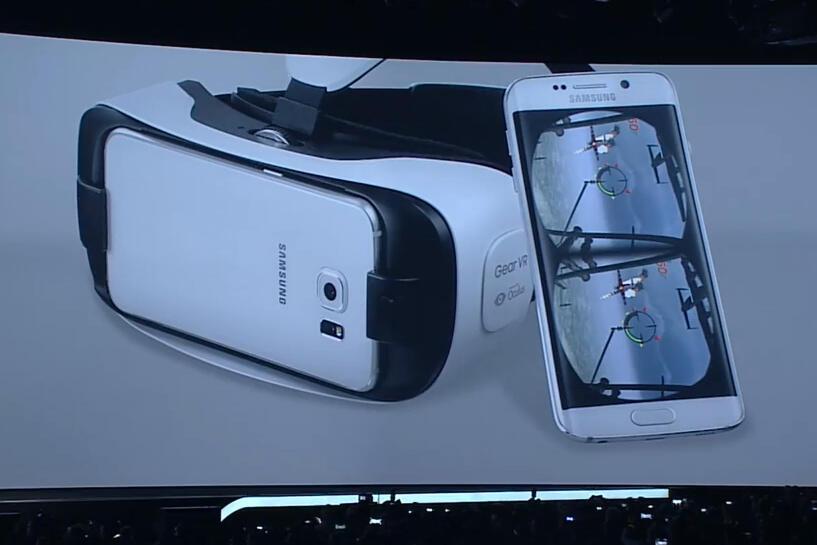 Galaxy S6 Gear VR MWC2015 Samsung