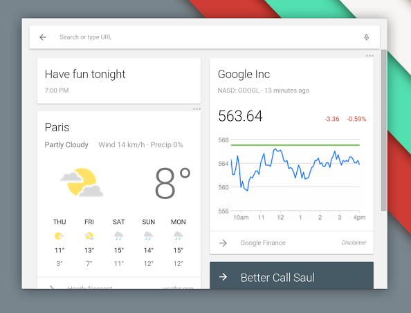 chrome chrome os Firmware Google Google Now launcher Update